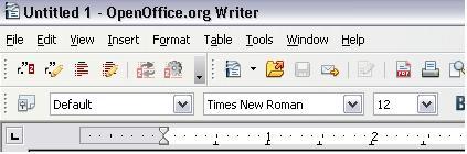 microsoft office toolbar icons