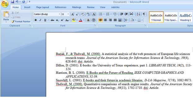 Zotero Create Bibliographies From Zotero
